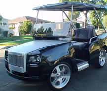 Rolls-Royce-Golf-Cart